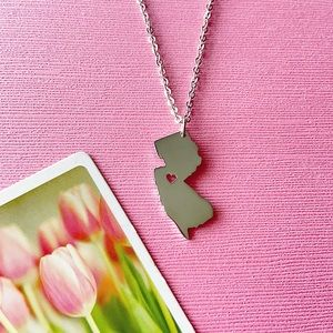 New Jersey Sterling Silver Necklace